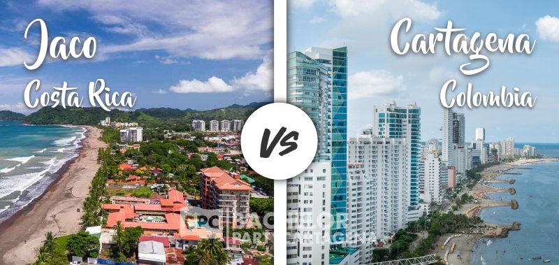 Despedida Soltero en Cartagena Colombia Versus Despedida Soltero en Jaco Costa Rica