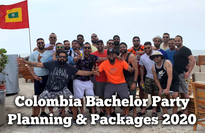 Colombia bachelor party planning and packages