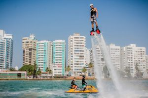 Cartagena-bachelor-party-what-to-do-flyboard-water-sports