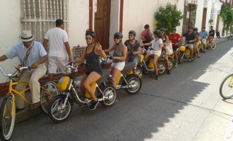 Electric-Bike-Tour-Cartagena-Bachelor-Party-1