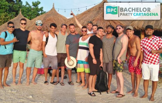 cartagena bachelor party group package